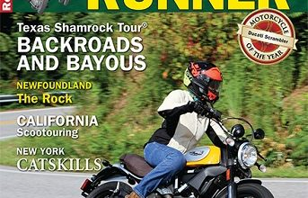 FREE RoadRUNNER Motorcycle Touring & Travel Magazine Subscription