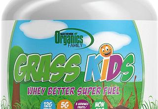 FREE Organics Family Grass Kids Whey Powder Sample