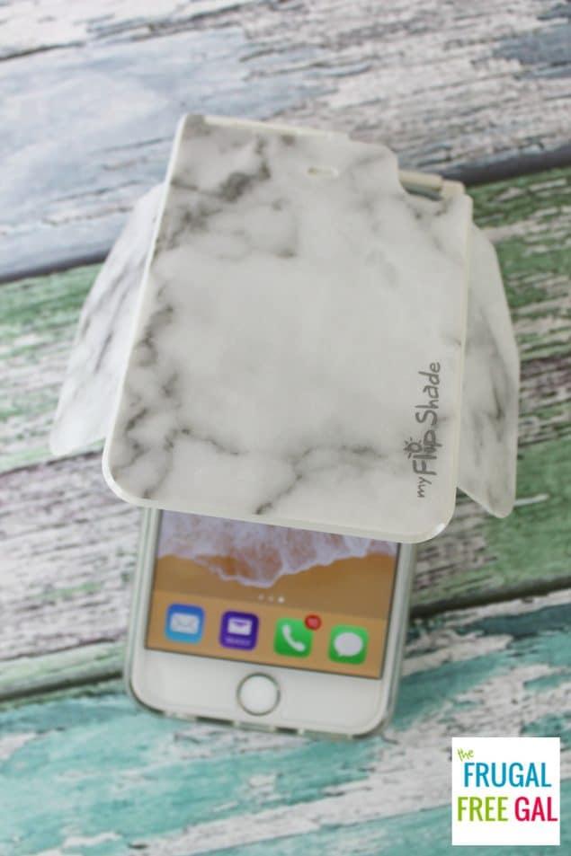 myFlipShade phone accessory