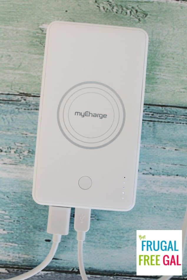 UnPlugged 5K portable charger from myCharge