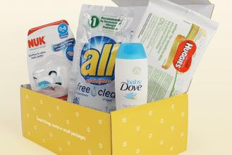 FREE Walmart Baby Sample Box