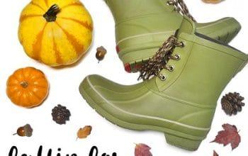 Chooka Boot Fallin For Rainboots Giveaway (ends 11/30)