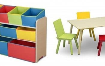 Delta Multi-Bin Toy Organizer & Kids Table and Chair Set Only $45.49 Shipped! (reg $110)