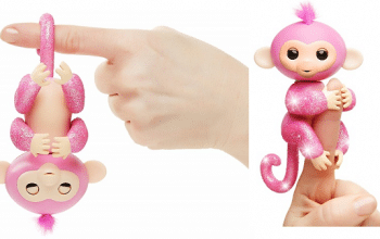 Fingerlings Glitter Monkey Rose Only $8.52 Shipped! (reg $17.99)