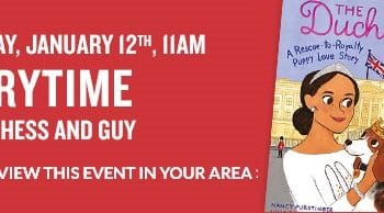 FREE Storytime & Activities at Barnes & Noble on January 12th!