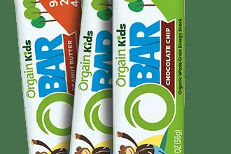 FREE Orgain Organic Kids O-Bars Sample