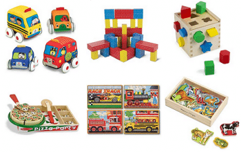 Save Up to 50% Off Melissa & Doug Toys + FREE Shipping (today only)