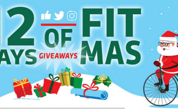 *Ends Soon* Thuasne USA 12 Days of FitMas Sweepstakes – Enter Daily! (ends 12/7)