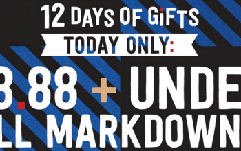 Crazy8: 12 Days of Gifts Day 3 – All Markdowns $8.88 & Under! (today only)