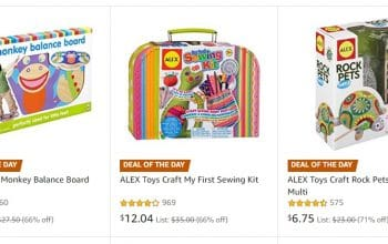 Amazon: Save up to 50% on Select Toys from Alex Brands