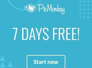 PicMonkey Photo Editing Program: Get 7 Days FREE – Try it Now!