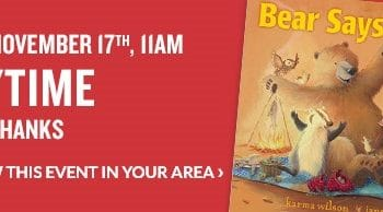 FREE Storytime & Activities at Barnes & Noble on November 17th!