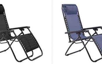 Amazon: Save on Zero Gravity Chairs from Sunjoy (Today Only!)