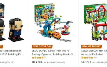 Amazon: Save up to 30% Off on LEGO