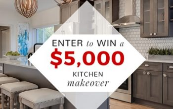 Kitchen Makeover Sweepstakes (Ends 12/1)