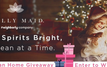Molly Maid Holiday Clean Home Giveaway (Ends 12/22)