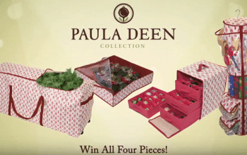 Enter to Win a Paula Deen Christmas Tree + More (ends 12/18)