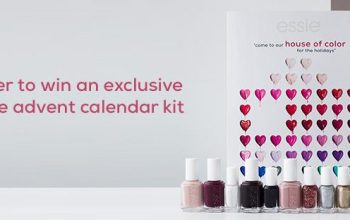 Essie Advent Calendar Kit Giveaway (Ends 12/18)