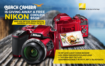 Beach Camera Nikon Camera Giveaway (ends 12/31)
