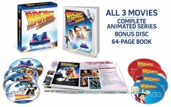 Back to the Future The Complete Adventures Blu-Ray – 75% Off + FREE Shipping