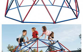 Geometric Dome Climber Jungle Gym – 48% Off + FREE Shipping (today only)