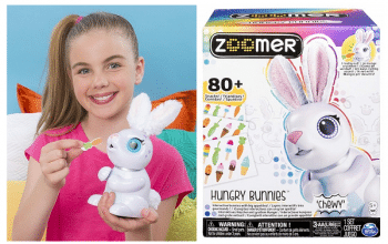 Zoomer Hungry Bunny Chewy – 60% Off + FREE Shipping