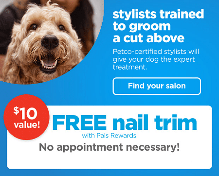 FREE Nail Trim for Dogs at Petco - Freebies and Free Samples