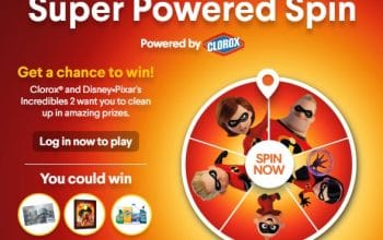 Clorox Super Powered Spin Giveaway (Ends 12/18)