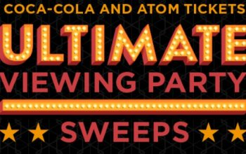 Coca-Cola and Atom Tickets Ultimate Viewing Party Sweepstakes & Instant Win Game (Ends 12/7)