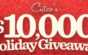 *Ends Today* Cutco's $10,000 Holiday Giveaway – Daily Prizes (Ends 12/12)