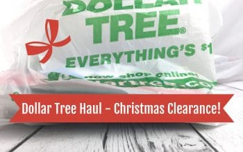 YouTube Video: Dollar Tree Haul – Christmas Clearance