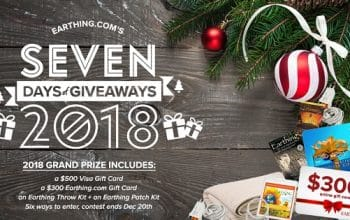 Earthing.com Holiday Giveaway (ends 12/20)