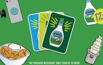 *Ends Today* Hidden Valley Ranch Instant Win Game: Enter Daily! (Ends 12/6)