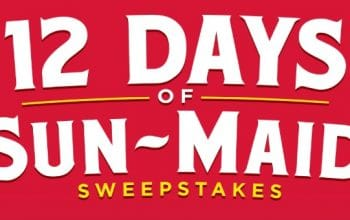 12 Days of Sun-Maid Sweepstakes (Ends 12/12)