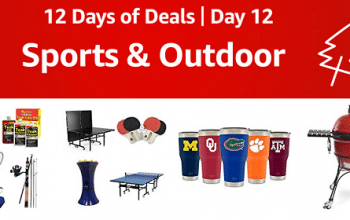 Amazon 12 Days of Deals Day 12: Sports & Outdoor