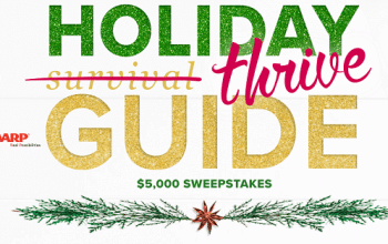 AARP's Holiday Thrive Guide $5,000 Sweepstakes (ends 12/31)