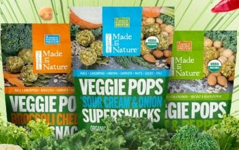 *Ends Today!* FREE Sample of Veggie Pops (10,000 Samples – 100 Winners Per Day)