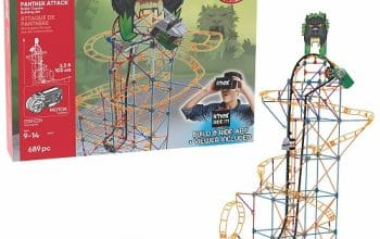690-piece K'NEX Panther Attack Roller Coaster Set – 71% Off