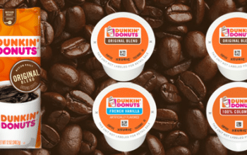 FREE Dunkin' Donuts Coffee Sample
