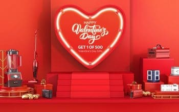 Bestek Mall Valentine's Day Giveaway (ends 2/14)