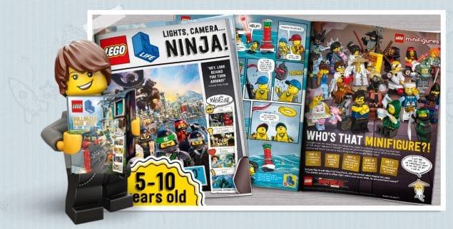 FREE Lego Life Magazine Subscription