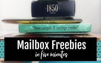 YouTube Video: Mailbox Freebies in Five Minutes