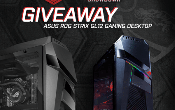 Enter to Win an ASUS Gaming PC (ends 1/29)