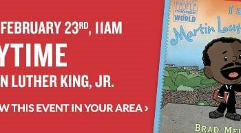 FREE Storytime & Activities at Barnes & Noble on February 23rd!