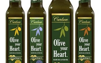 NEW Social Nature Sampling Opportunity: Carlson Omega-3 Olive Oil