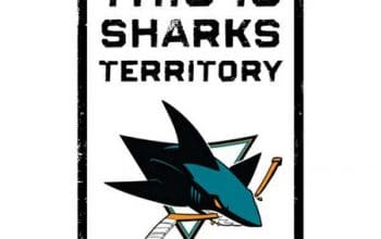 FREE San Jose Sharks 'This is Sharks Territory' Sign