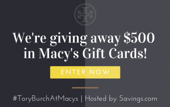$50 Macy's Gift Card Giveaway – 10 Winners! (Ends 2/6)