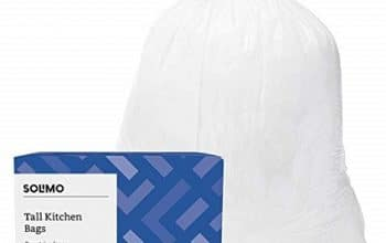 Huge Savings: 200ct Solimo 13-Gallon Trash Bags – Just $0.06 Each!
