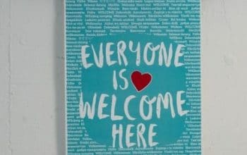 FREE 'Everyone is Welcome Here' Poster for Teachers