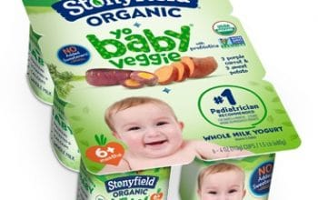 NEW Mom's Meet Sampling Opportunity: Stonyfield Organic YoBaby Yogurt